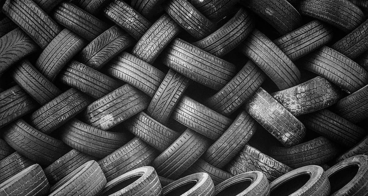 Riciclaggio della gomma: che cosa è, come si effettua